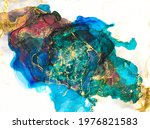 ink  paint  abstract.... | Shutterstock . vector #1976821583