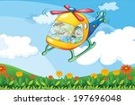 illustration of a helicopter...