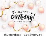 happy birthday congratulations... | Shutterstock .eps vector #1976989259