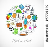 """card with """"back to school""""... 