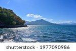Scenery Of Lake Shikotsu In...