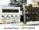modern fiber optic testing... | Shutterstock . vector #197710094
