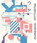 modern artwork of abstract... | Shutterstock .eps vector #1977130766