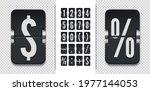 vintage floating symbols for...