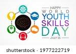 world youth skills day  wysd ... | Shutterstock .eps vector #1977222719