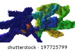 spot colored paint | Shutterstock . vector #197725799