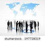 group of business people... | Shutterstock . vector #197728319