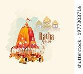 illustration of  lord jagannath ...   Shutterstock .eps vector #1977303716