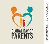 happy global parents day... | Shutterstock .eps vector #1977320210