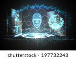 digitally generated medical... | Shutterstock . vector #197732243