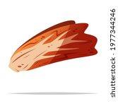 napa cabbage kimchi vector... | Shutterstock .eps vector #1977344246