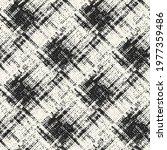 brushed ink blots seamless... | Shutterstock .eps vector #1977359486