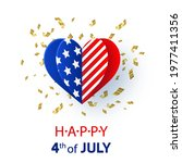 happy 4th of july. usa...   Shutterstock .eps vector #1977411356