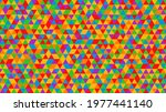 colorful geometric background.... | Shutterstock .eps vector #1977441140