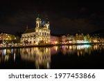 Night Scene Of City In Lucerne  ...