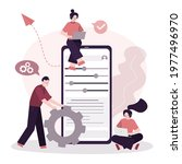 user group sets up a personal...