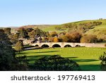 Burnsall Village In The...