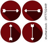 arrows flat icon set for 14...   Shutterstock .eps vector #1977732449