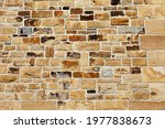 Bricked Stone Wall As A...