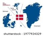 the danish commonwealth map of... | Shutterstock .eps vector #1977924329