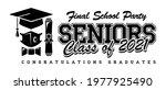 quarantine graduation class of... | Shutterstock .eps vector #1977925490