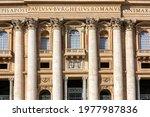 Vatican  Rome  Italy   October...