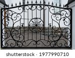 Wrought Iron Fence  Building...
