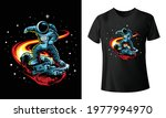 astrometeor stylish t shirt and ... | Shutterstock .eps vector #1977994970