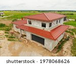 House With Red Roof Tiling...
