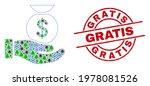winter coronavirus mosaic... | Shutterstock .eps vector #1978081526