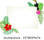 tropical summer background...   Shutterstock .eps vector #1978099676