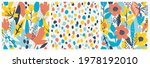 set of seamless patterns with...   Shutterstock .eps vector #1978192010