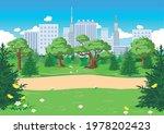 vector illustration of a public ... | Shutterstock .eps vector #1978202423