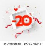 twenty percent discount vector... | Shutterstock .eps vector #1978270346