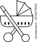 boy stroller icon related vector | Shutterstock .eps vector #1978275053