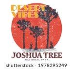 joshua tree vector design for... | Shutterstock .eps vector #1978295249
