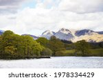 Lake Windermere With Mountains...