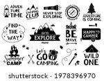 adventure lettering. traveling  ... | Shutterstock .eps vector #1978396970