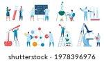scientists research. scientist... | Shutterstock .eps vector #1978396976