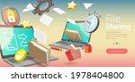 3d vector conceptual... | Shutterstock .eps vector #1978404800