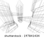 architecture building | Shutterstock . vector #197841434