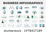 bundle of abstract infographic...   Shutterstock .eps vector #1978427189