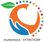 circle shaped logo and symbol... | Shutterstock .eps vector #1978474289