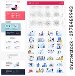 one page website design...   Shutterstock .eps vector #1978489943