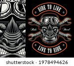 colorful biker patch with a... | Shutterstock .eps vector #1978494626