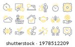 set of science icons  such as...   Shutterstock .eps vector #1978512209