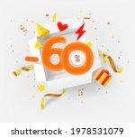 sixty percent discount vector...   Shutterstock .eps vector #1978531079