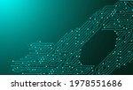motherboard vector background...   Shutterstock .eps vector #1978551686