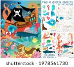 pirates ship battle with...   Shutterstock .eps vector #1978561730