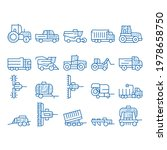 agricultural vehicles sketch... | Shutterstock .eps vector #1978658750